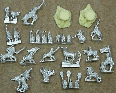 Warmaster Pictish Woodlanders Wood Elves ELF CHARACTERS Cromarty Forge 72845 • 11.99£