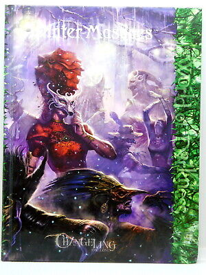 WINTER MASQUES For Changeling The Lost Hardback White Wolf 48736 • 20£