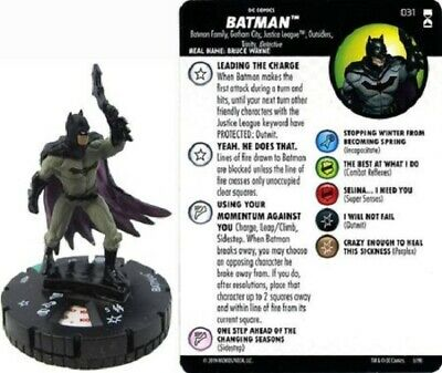 DC Heroclix - Rebirth - BATMAN #031 • 3£