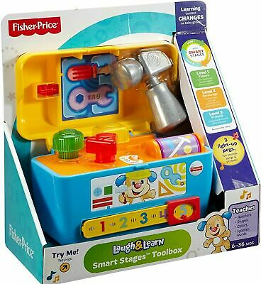 Fisher Price Smart Stages Tool Box • 15.99£