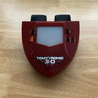 Vintage Tomytronic Sky Attack 3-D. Tomy 3D Handheld Electronic Game - Working • 59.99£