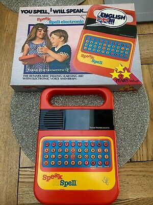 Vintage Speak And Spell Raised Buttons 1st Edition • 189.99£