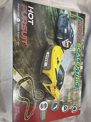 Micro Scalextric Set Hot Pursuit Boxed • 29.99£