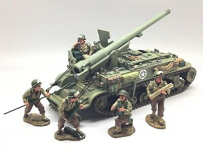 King & Country Wwii D Day Us Motor Carriage Dd078 1/30 • 349.99£