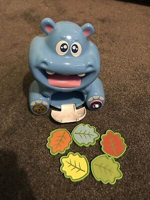 Bilingual Electronic Talking Counting Hippo Toy English French • 6.90£