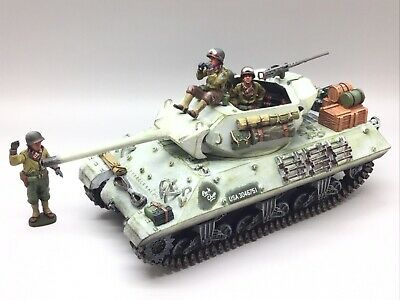 King & Country Wwii Battle Of The Bulge M10 Tank Destroyer Bba11 1/30 • 299.99£