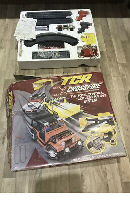 TCR Total Control Racing Crossfire Vintage Set.    Free Postage • 100£