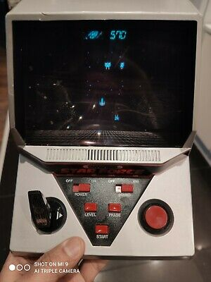 Vintage Grandstand Star Force Electronic Game 1984 ***Good Condition*** • 21£