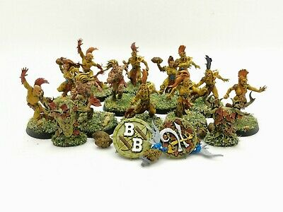 The Athelorn Avengers - Wood Elf Blood Bowl Team - Painted • 150£