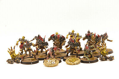 The Champions Of Death Shambling Undead Blood Bowl Team Painted • 150£