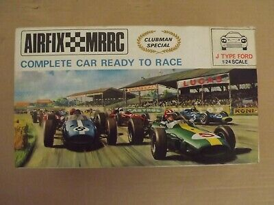 AIRFIX(SCALEXTRIC TYPE SLOTCAR)1/24th.READY TO RACE.J TYPE FORD.BOXED RARE. • 195£