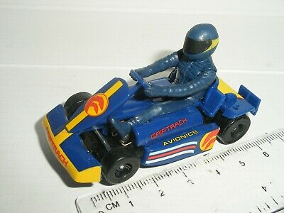 12V MICRO Scalextric - Go-Kart Blue - NEW • 9.99£
