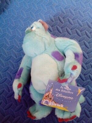 DISNEY Pixar Monsters Inc Sully Plush Toy Disneyland Paris - BRAND NEW TAG • 5.95£