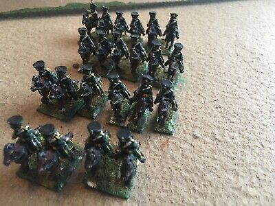 15mm Russian Napoleonic  Chasseurs X 22 • 18£