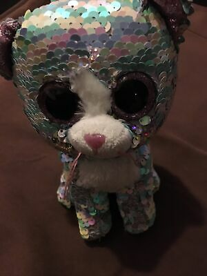 Ty Whimsy Sequined Kitten • 0.99£