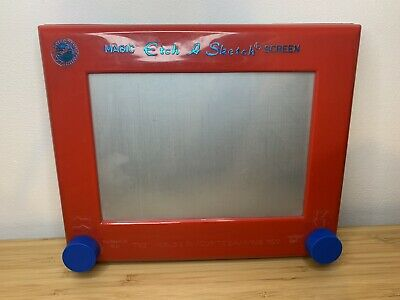Vintage Etch A Sketch Toy 1980s Peter Pan Playthings Magic Screen VG Condition • 12£
