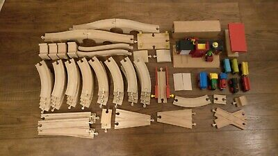 Brio And Other Wooden Trainset / Railway Bundle • 15£
