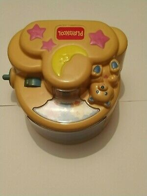 Playskool Music (nursery) And Light Up Toy Windup, Reflects On The Wall/ceiling • 19.99£