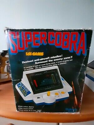 Vintage Gakken Super Cobra LSI Game With Box • 22£