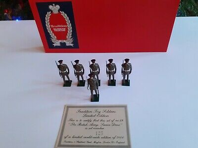 Tradition Hand Painted Toy Soldiers No 23 The British Army Service Dress 54mm • 50£