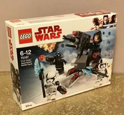 Lego Star Wars 75197 First Order Specialists Battle Pack • 13.98£