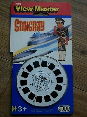 Stingray Viewmaster 1993 View-master Gaf Tyco Toys Sci-fi Tv D282 Gerry Anderson • 18£