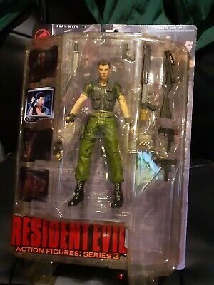 Resident Evil Series 3 Chris Redfield -Palisades-NEW • 95£