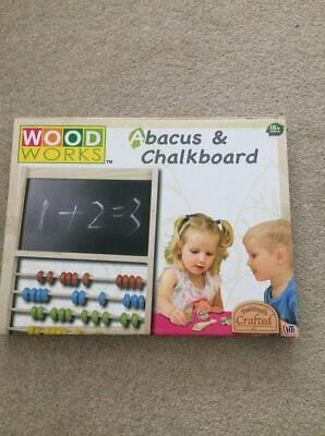 Abacus And Chalkboard • 5£
