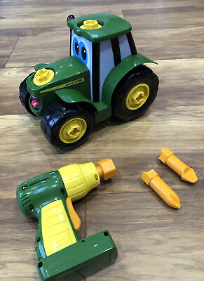 John Deere Build A Johnny Tractor. Tractor Toy. • 8.50£