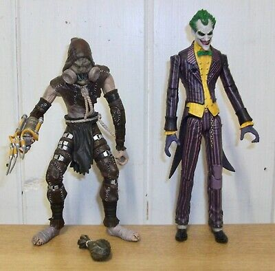 Batman - Arkham Asylum - Scarecrow & The Joker - Action Figures • 19.99£