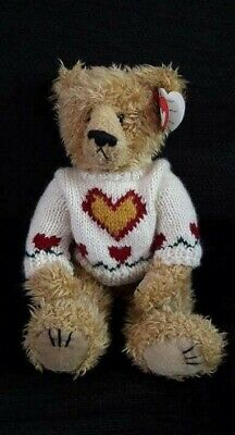 Attic Treasures Ty Plush Toy Heartley Jointed Teddy Bear 12  1993 - Retired  • 19.95£