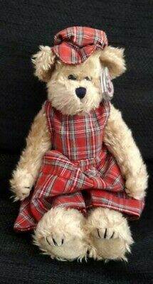 Attic Treasures Ty Plush Toy Scotch Jointed Teddy Bear 12  1993 - Retired  • 19.95£