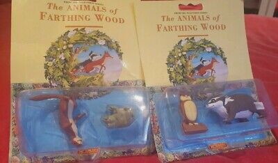 The Animals Of Farthing Wood Toy Figures Hornby Collectibles Figurines Rare • 11£