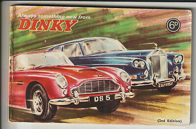 DINKY 2nd EDITION (1966) COLOUR SALES CATALOGUE • 4.99£