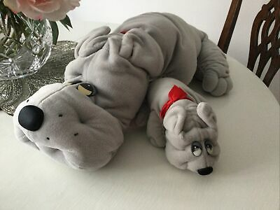 Vintage Hornby Pound Puppy And New Born • 16£