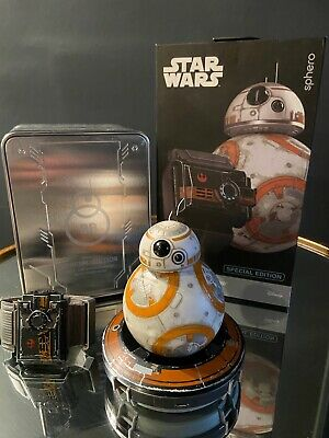 Special Edition Star Wars Battle-Worn BB-8 By Sphero With Force Band And Tin  • 50£