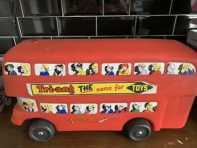 Triang Plastic Bus New Old Stock • 100£