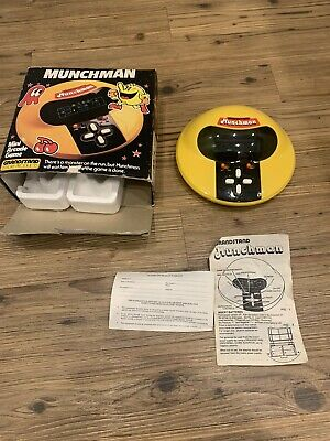 Grandstand Munchman Vintage 1981 PacMan Game Boxed • 41£