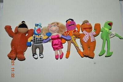 McDonalds - MUPPETS - COLLECTION - 2002 Soft Toys - KERMIT MISS PIGGY FOZZIE>>>  • 12.50£