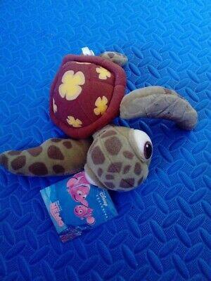 Official Walt Disney Store Squirt Turtle, Finding Nemo Soft Plush Toy - New Tags • 8.95£