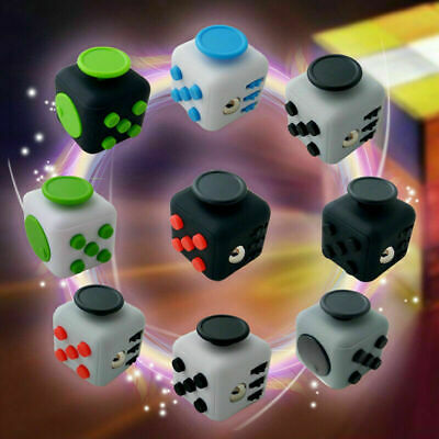 Fidget Cube Spinner Toy Children Desk Adults Stress Pressure Relief Cubes • 3.99£