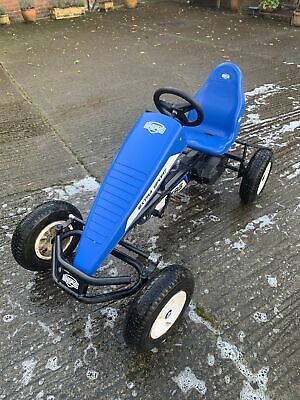 BERG CLASSIC BASIC BLUE BFR PEDAL GO KART FOR AGES 5+ With The Front End • 275£