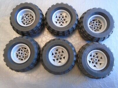 LEGO 45982 56908 Wheel & Tyre 81.6 X 38 R - Lot Of 6 - Those Shown • 20£
