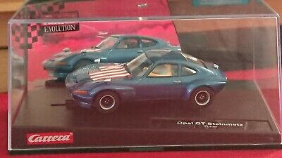 Carrera Evolution 27326 Opel GT Steinmetz Tuner Slot Car NEW • 59.95£