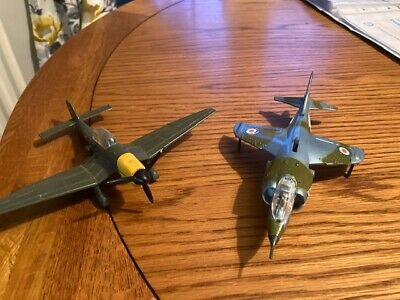 DINKY TOYSJunkers/Harrier Plane Both Working . Condition Is  Used . • 28£