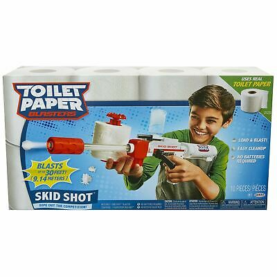 Toilet Paper Blasters SKID SHOT - Wipe Out The Competition! • 23.99£