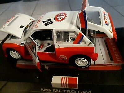 1:18 CODE 3 MG METRO 6R4 CARNEGIE 1991 BRITISH GP Rally Race Motorsport • 51£