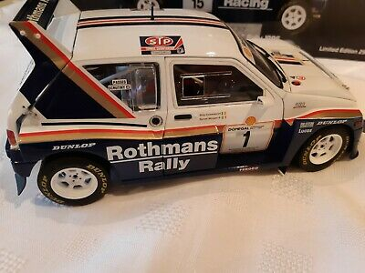 KMD 1:18 CODE 3 MG METRO 6R4 COLEMAN 1986 Donegal Rally Race Motorsport • 88£