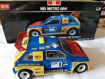 1:18 CODE 3 MG METRO 6R4 GIBSON 2008 CHAMPION Rally X Race Motorsport • 56£