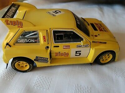 1:18 CODE 3 MG METRO 6R4 GIBSON Rally X Race Motorsport • 31£